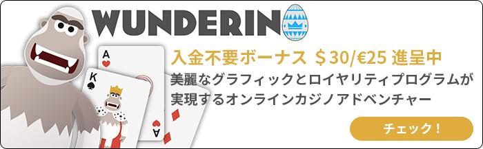 ワンダリーノカジノ モバイルバナー2