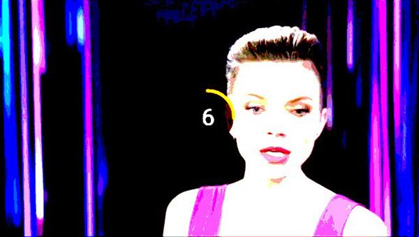ディーラー 表情アングル1