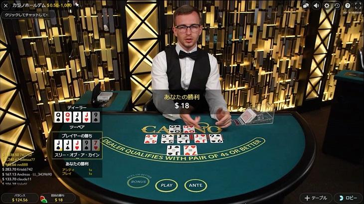 カジノ 3カード
