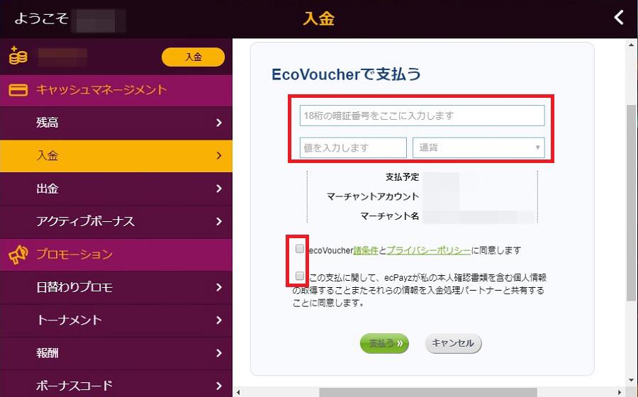 ecoVoucher情報