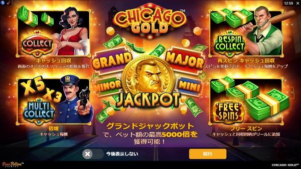 チェリーカジノ Chicago Gold